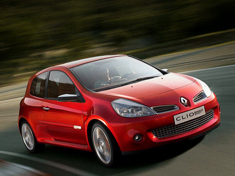 Renault clio rs,Renault clio. Горячий хэтчбэк Clio RSудостоился похвалы автомобильной прессы, ещё даже неуспев встать наконвейер.