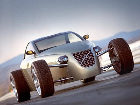 Volvo t6 roadster. Volvo T6Roadster— это настоящий хот-род, собранный вручную издеталей отсерийных машин Volvo.