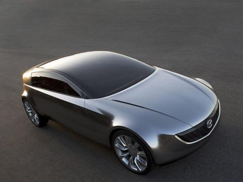 Mazda senku,Mazda concept. Дизайн Mazda Senku явно неземной. Роторный двигатель— тоже редкость. Автомобиль несэтой планеты, одним словом.