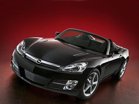 Opel gt. Новый родстер Opel GT, оказывается, выглядит как давно известная нарынке США модель Saturn Sky.