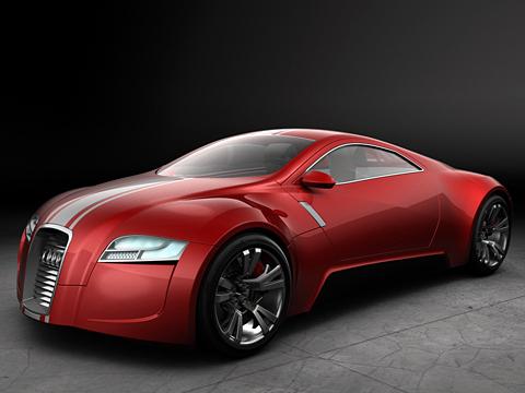 Audi r-zero. Спортивные автомобили будущего станут ездить набатарейках. Скажи подобное лет десять назад, сожглибы накостре.