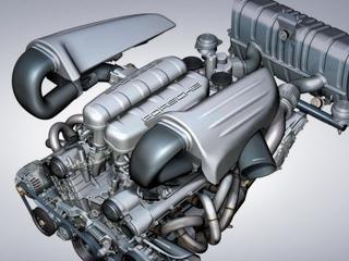 Porsche gt1. Именно этому десятицилиндровому двигателю отCarrera GTвскором времени надлежит стать основой самого быстрого Porsche вистории.