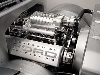 Ford engine. Вотличие отдругих производителей, свои экспериментальные водородные двигатели Ford будет устанавливать неналегковые автомобили, анаавтобусы.