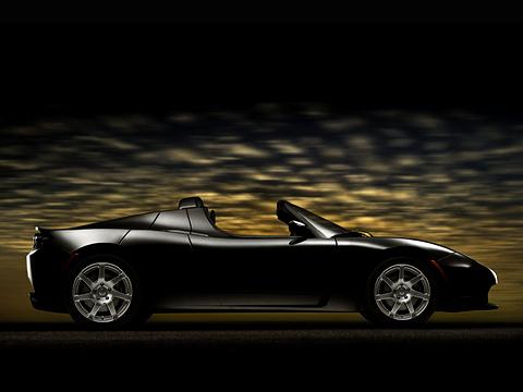 Tesla roadster. Porsche иFerrari сосвоими большими двигателями будут вынуждены посторониться— Tesla Roadster разгоняется ещё быстрееих.