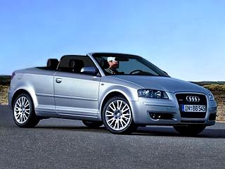 Audi a3. Милый кабриолетик A3 будет таким же маленьким и спокойным, пока не получит модификацию S3 Cabrio.