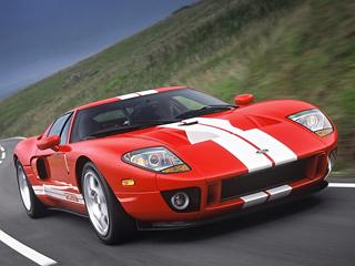Ford gt. FordGT был одним изнемногих американских суперкаров, который мог обойти Ferrari инагоночной трассе, инадорогах общего пользования.