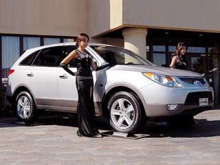Hyundai veracruz,Hyundai ix55. Врядли европейцам придётся подуше «замыленная» внешность Hyundai Veracruz, поэтому руководство компании пока не решается объявить оначале поставок вСтарый Свет.