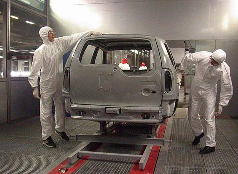 Сборка шевроле нива на конвейере ао портовый элеватор калининград официальный сайт