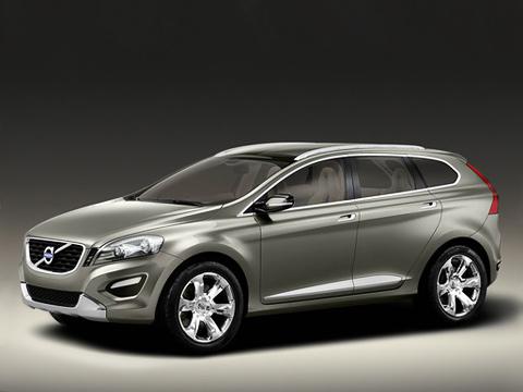 Volvo xc60,Volvo xc60 concept,Volvo concept. ПредсерийныйXC60 выглядит очень динамично ивообще привлекательно. Нерастеряетли онвсе свои оригинальные детальки довъезда всборочный цех?