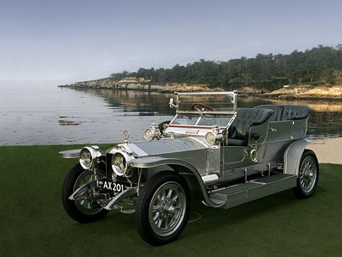 Rollsroyce silver ghost. Смомента своего появления модель Rolls-Royce Silver Ghost прославилась своей бесшумностью инадёжностью. Эти качества исоздали имидж компании намного лет вперёд.