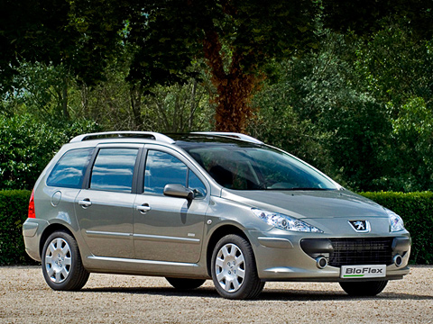 Peugeot 307,Peugeot 307 bioflex. ВРоссии ждать нечто подобное Peugeot307BioFlex пока слишком рано. Унас счадящими идымящими КАМАЗами разобраться толком немогут. Или нехотят.