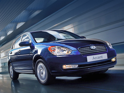 Hyundai verna. Насамом деле этот седан— третье поколение Accent, нотак как машина унас досих пор продаётся ипроизводится, тоследующая модификация называется Verna.