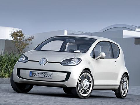 Volkswagen up concept,Volkswagen concept. «Малыш» спервыхже секунд визуального знакомства производит впечатление современного, высокотехнологичного автомобиля.