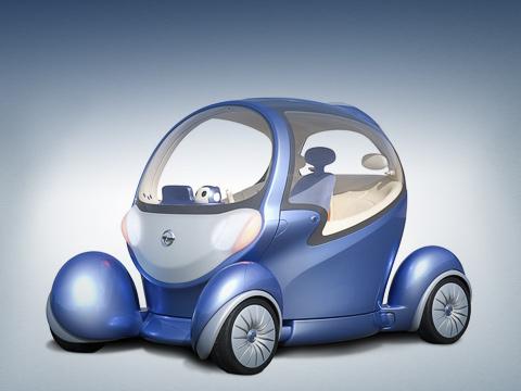 Nissan pivo 2,Nissan concept. Для любителей Pivo, которые невсилах терпеть допервого публичного показа вгалерее Ginza 13октября, ниссановцы открыли минисайт концепта. НаТокийском моторшоу машинку покажут 27числа.