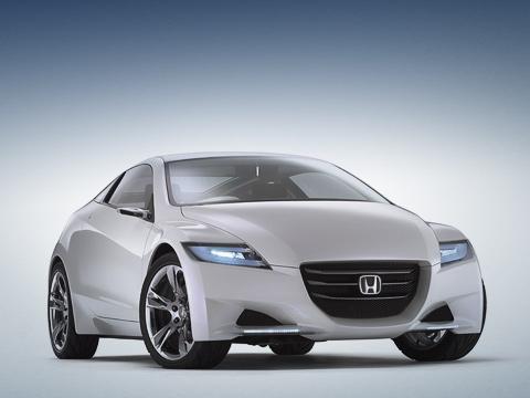 Honda cr-z,Honda concept. Покров таинственности относительно технических возможностей концепта CR-Z окончательно спадёт после открытия автосалона вТокио.