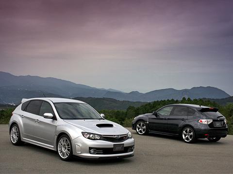 Subaru impreza wrx sti. Отстандартной версии Impreza WRX STI можно отличить поиной, более приземистой, осанке, наличию широких 18-дюймовых «катков», раздутым аркам испециальному аэродинамическому комплекту.
