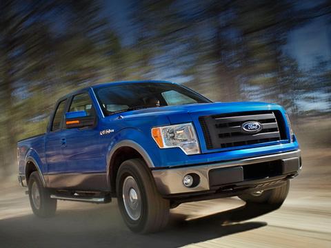 Ford f150. Ford F-1502009-го модельного года поправу может считаться одной изглавных премьер Детройта.