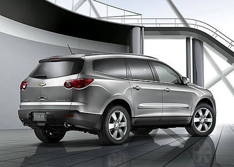 Chevrolet выпускает на волю большой кроссовер Traverse