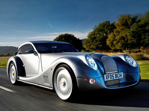 Morgan aeromax. Врядли среди серийных автомобилей найдётся хотябы десяток стаким оригинальным дизайном, как уMorgan.