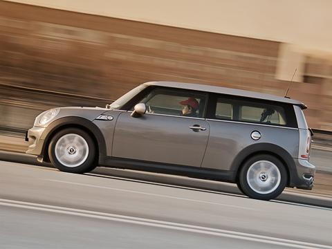 стараемся не думать почём Mini Cooper S Clubman тест драйв Mini