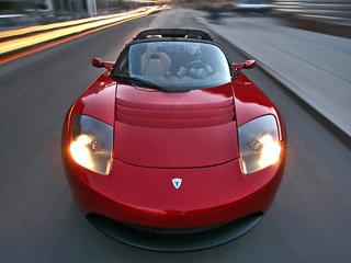 Tesla roadster. Теперь владельцы лотусоподобного родстера могут хвастаться смело: ихTesla разгонится до100км/ч неточто зачетыре секунды, адаже надесятку сотых быстрее!