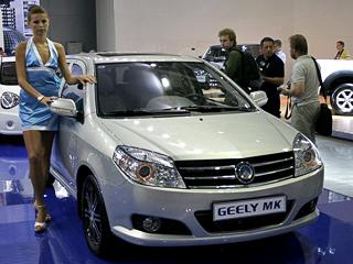 Geely mk,Geely emotion,Geely vision. Geely MKоснащается знакомым поОтаке лицензионным мотором Toyota объёмом 1,5л,мощностью 94л.с. ипятиступенчатой «механикой».