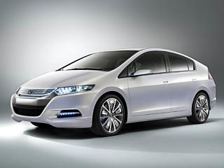 Honda insight concept,Honda concept. Honda Insight— альтер эго Приуса, который вот-вот появится напублике. Кто окажется технически более совершенным, неизвестно. Honda скрывает технические данные своей машины.