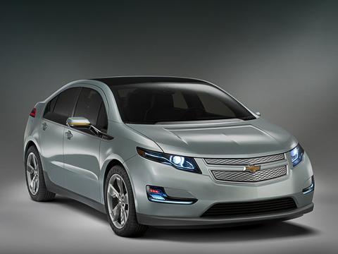 Chevrolet volt. Замысловатый дизайн Вольта— результат кропотливой работы над аэродинамикой. Посравнению сконцептом 2007года лобовое сопротивление снижено на30%.