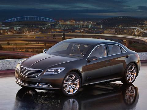 Chrysler 200c. Если Chrysler переживёт кризис, вближайшем будущем седаны этой марки будут выглядеть именно так.