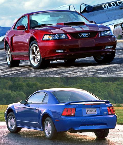Ford Mustang IV первоначально