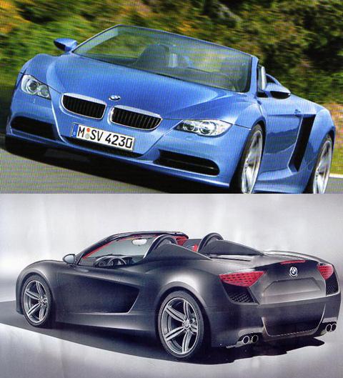 Bmw Z10: Концерн BMW настроит спорткар Z10 на экологический лад