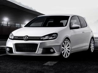 Volkswagen golf,Volkswagen golf gti. Компьютерное изображение— лишь один изпредполагаемых вариантов обвеса. Сименем— тоже неясно: нетобудет GolfGTIR, нетоGolfR20.