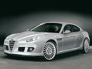 Alfaromeo 169. Помимо американской платформы седан Alfa Romeo 169получит ещё иамериканский мотор. Скорее всего, имстанет новый крайслеровский бензиновый двигатель PhoenixV6. Будем надеяться, что хотябы внешность останется итальянской.