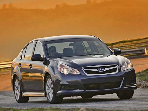 Subaru legacy. Предназначенную для американского рынка Legacy японцы покажут намотор-шоу вНью-Йорке, которое откроется 10апреля.