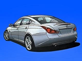 Infiniti m,Infiniti q70. Нынешнее поколение машины слишком безлико. Модернизированный вариант с заплывающими чуть ли не на крышу фарами и фонарями выглядит куда самобытнее.