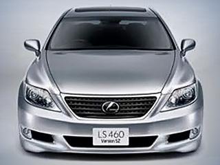 Lexus ls,Lexus ls f. Оспортивленный седан Lexus LS460SZполучит внешность соригинальными элементами. Его отличительные черты: более низкий бампер ичёрная фальшрадиаторная решётка.