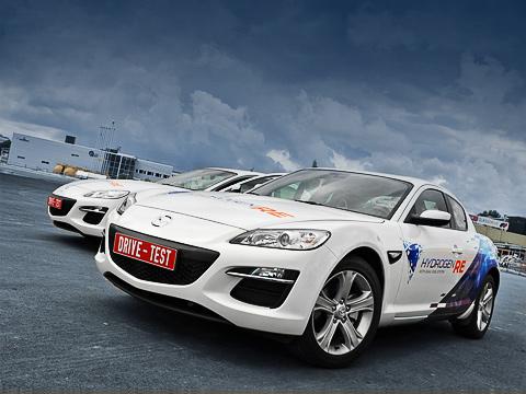 Mazda rx-8 hydrogen re,Mazda premacy hydrogen re hybrid,Mazda rx-8,Mazda premacy,Mazda 5. Всё прошлое десятилетие водород считался топливом будущего. Оптимизма поубавилось, но разработки в заданном направлении продолжаются.