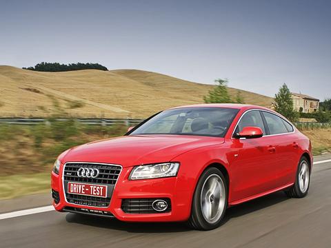 Audi a5 sportback. Хэтчбеки вклассеD— невдиковинку, однако A5Sportback— первая новинка впремиум-сегменте. Вскоре ейвконкуренты будет навязана похожая машина набазе «третьей серии» BMW.