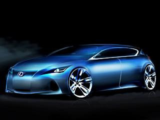 Lexus compact,Lexus lf-ch. Насколько далека будет отофициального скетча серийная машина, покажет время. Носмеем предположить, что дизайн еёбудет перекликаться соформлением младшей насегодняшний день модели Лексуса— седанаIS.