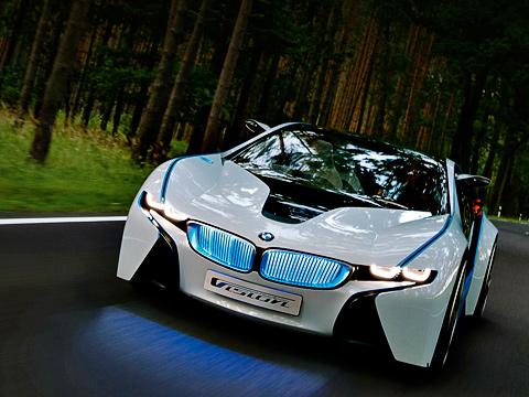 Bmw vision. Сами баварцы гордо заявляют, что Vision— это коктейль издинамики M-версий машин BMW иэкономичности гибридов.