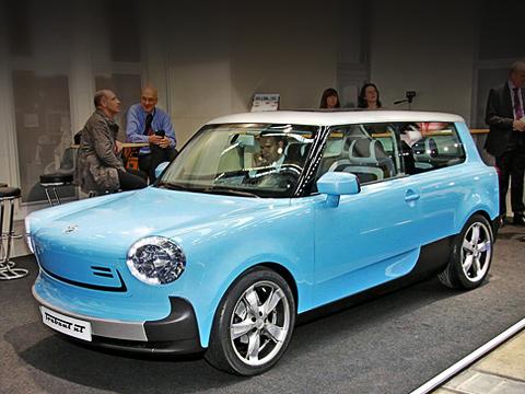 Trabant nt. Внешность автомобиля— дело рук несамого известного немецкого дизайнера Нильса Пошватты, который всвоё время успел поработать вконцерне Volkswagen.
