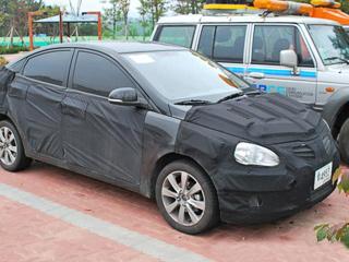 Hyundai accent. Стилистически новое поколение Акцента будет схоже снедавно представленным седаном Hyundai Sonata.