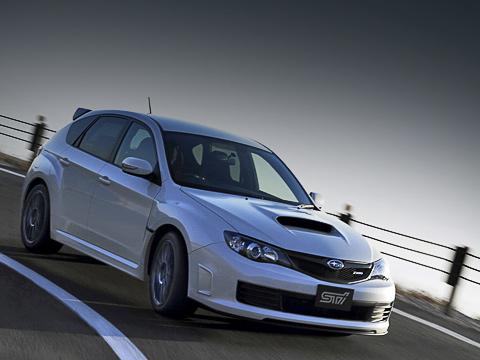 Subaru impreza wrx sti,Subaru impreza wrx sti r205. Оновой 320-сильной спецверсии известно практически всё— кроме самого интересного. Динамических характеристик японцы пока необнародовали.