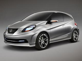 Honda nsc. Продавать маленькую Хонду, которая вылупится изконцепта, наполуострове Индостан начнут в2011-м.