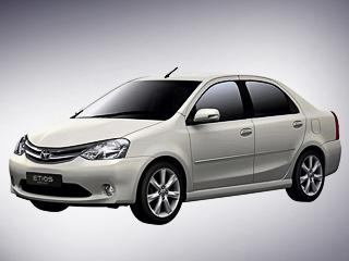 Toyota etios. Серийные модели мало чем будут отличаться отпредварительных образцов. Так что разговоров осходстве сседаном Renault Logan неизбежать.