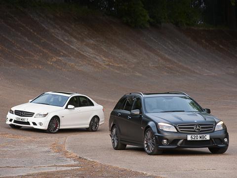 Mercedes c,Mercedes c 63 amg,Mercedes dr520. Улучшений почасти аэродинамики нет, если небрать врасчёт крохотный углепластиковый спойлер накрышке багажника седана.
