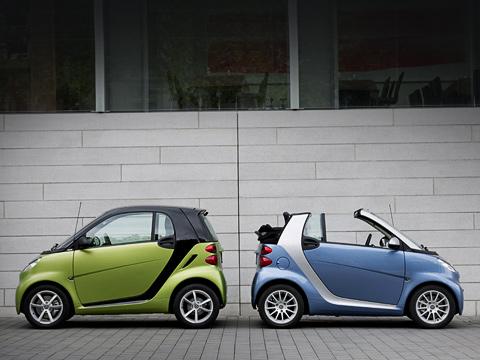 Smart fortwo,Smart fortwo brabus. Продажи модифицированных автомобилей Smart Fortwo должны начаться осенью, практически сразу после их мировой премьеры.