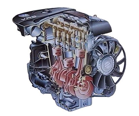 Двигатель VR5 2.3 конструкторы