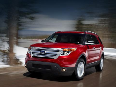 Ford explorer. Пятая генерация автомобиля поступит вавтосалоны официальных дилеров марки предстоящей зимой.