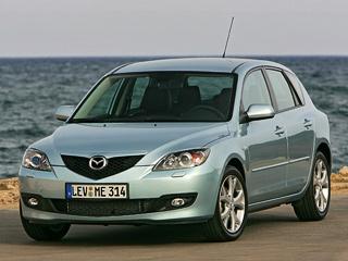 Mazda 3,Mazda 5. ВЕвропе под отзыв попали 40260 седанов ихэтчбеков Mazda3с бензиновым мотором2.0MZR идизельным 1.6MZR-CD.